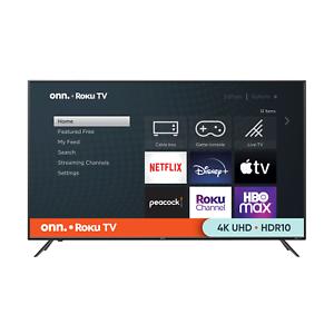 "onn. 55"" Class 4K UHD (2160P) LED Roku Smart TV HDR (100012586)"