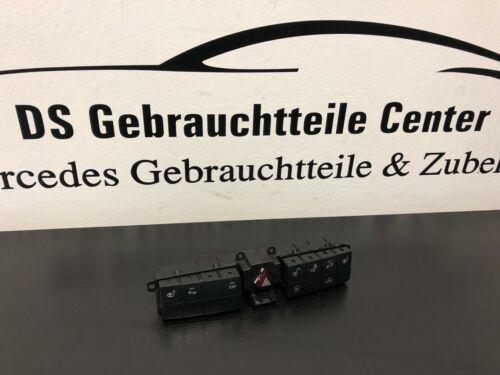 Mercedes W203 W209 Schalterleiste Schalterblock Warnblinkschalter A2038702210
