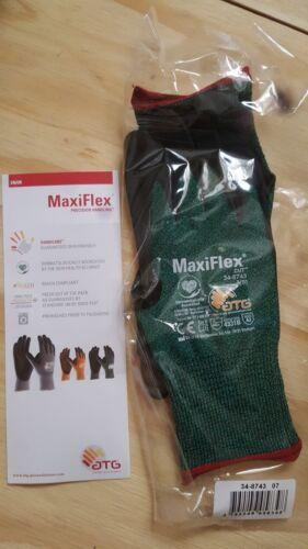 //8 10 x ATG MAXIFLEX CUT 34-8743 size 7 S M