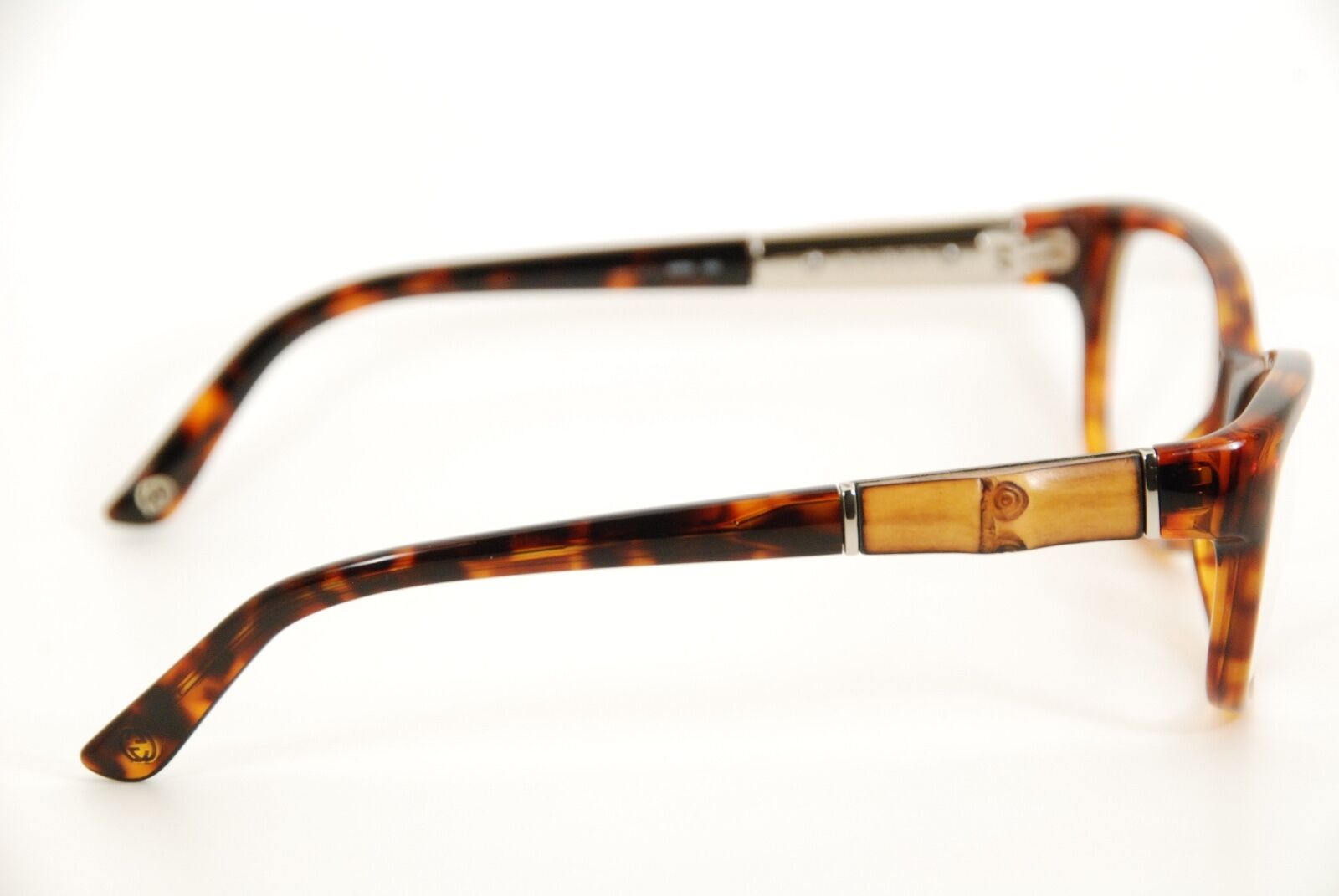 5f356c5db31 Authentic Gucci GG 3673 4ua Black wood 53mm Italy Frames Eyeglasses RX for  sale online