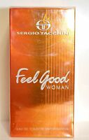 Feel Good By Sergio Tacchini 3.3/3.4oz. Edt Spray For Women In Box