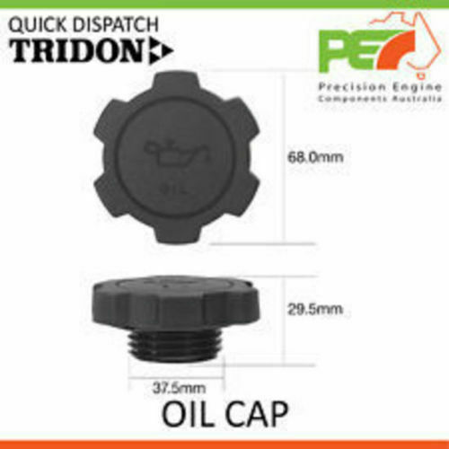 Brand New * TRIDON * Oil Cap For Daihatsu Sirion M100 1.0L EJDE Part No. TOC511