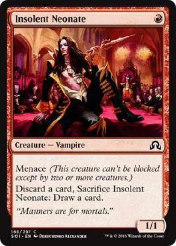 3x Insolent Neonate 168//297 Near Mint MTG Shadows over Innistrad SOI