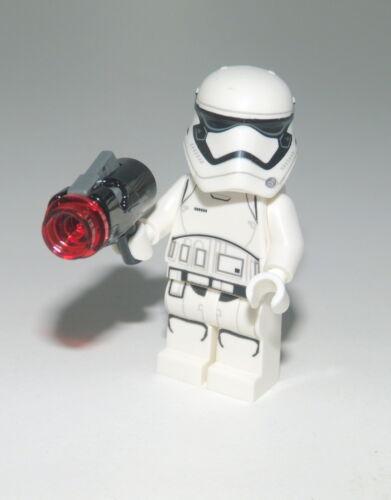 LEGO Star Wars First Order Stormtrooper Trooper Stormi inkl Blaster Gun SW123