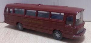 Wiking Bus Mercedes Benz O 302 Deutsche Bundesbahn 1/87 (21/04)