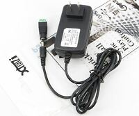 Xtenzi 12V 2A Power Supply AC100-240V to DC Adapter Plug for 3528 5050 Strip LED