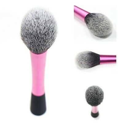 Synthetic Hair Powder Blending Makeup Contour Brushes Blush Flame Front Type New