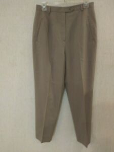 Austin Reed Beige Worsted Wool Pants Trousers Slacks Ms Sz 10 Waist 30 X 27 5 Ebay