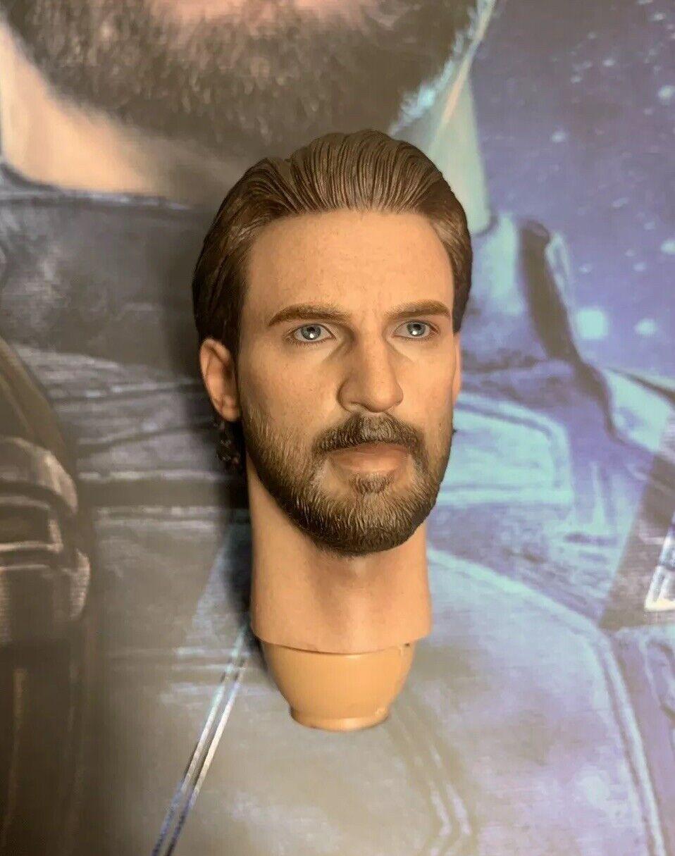 heiß Spielzeugs MMS481 Avengers Infinity War Captain America 1 6 Head