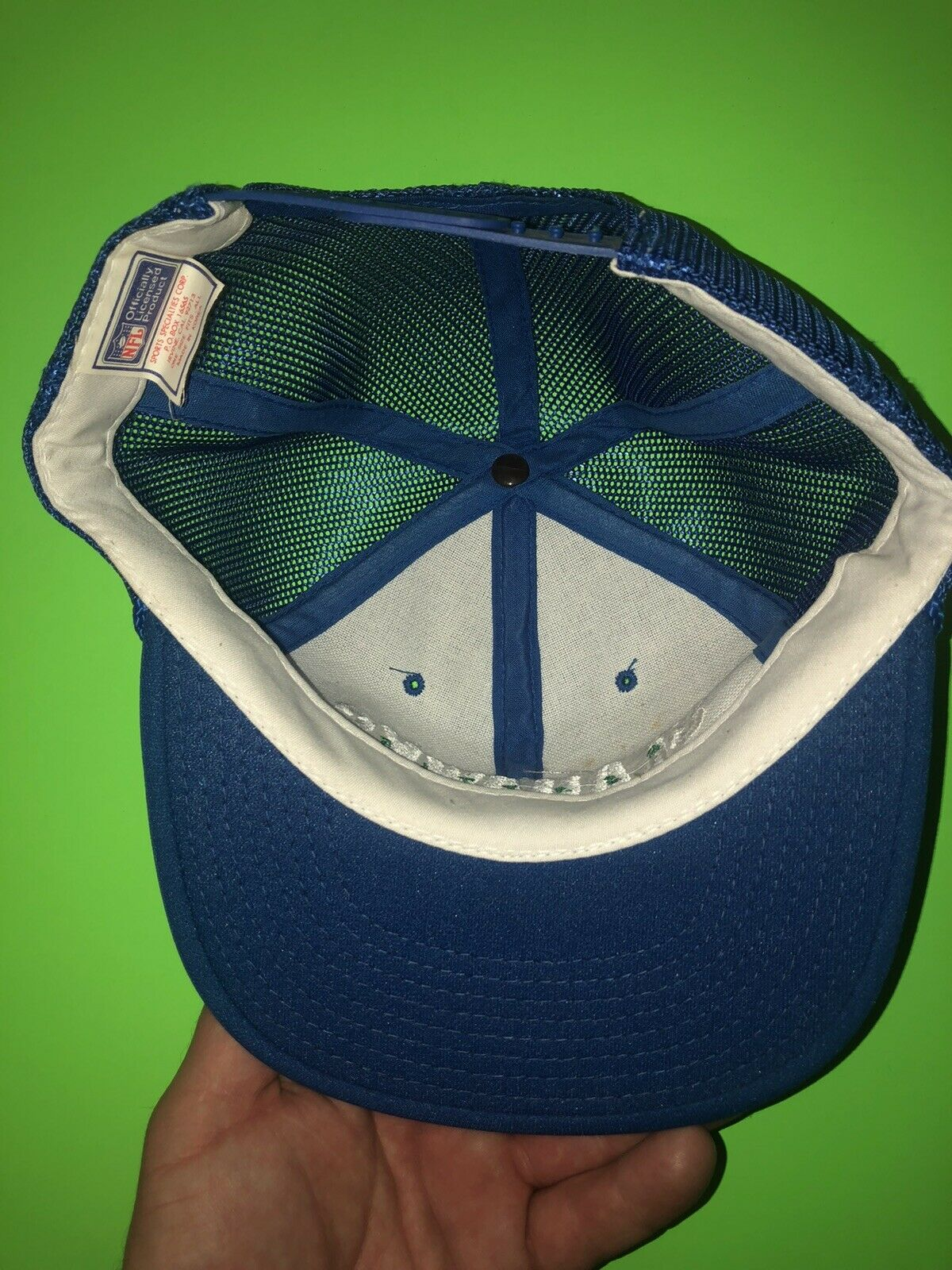 Vintage Sports Specialties Seattle Seahawks Spell… - image 2