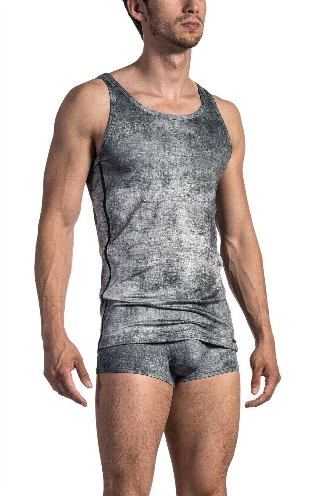 Olaf Benz ROT 1674 Sport Shirt Designer  Herren Gym Vest Top