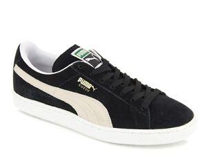 PUMA Suede Classic Scarpe Da Ginnastica Sneaker Camoscio Unisex Nero 352634 03