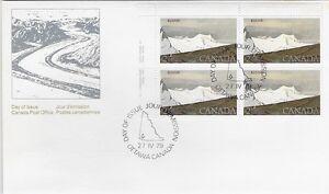 Canada-Post-OFDC-1979-2-00-National-Park-Kluane-UL-Pl-Bl-FDC-Sc-727-CV-24-60
