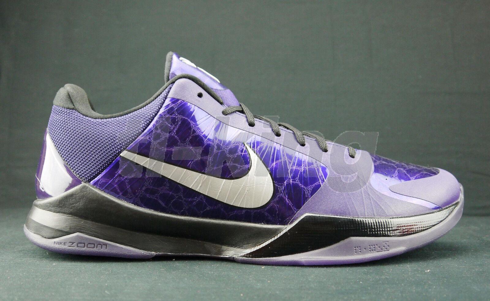 on sale 9181d f7be2 Nike Kobe 5 V Ink Purple House Of Hoops NYC NYC NYC PE player display sz 14  d38184