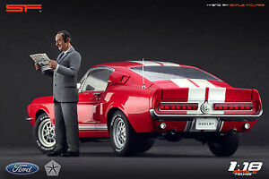 Lee Iacocca Mustang >> Details About 1 18 Lee Iacocca Very Rare Figurine No Cars For Ford Mustang Collectors