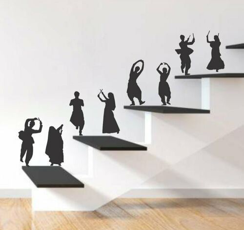Dance Couples Removable Decal Art Mural Wall Sticker Home Room Diy Decor