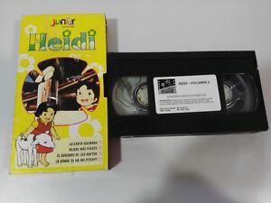 Heidi Serie TV - 4 Serie Volume 2 Cassetta Cartone - VHS Nastro Castellano