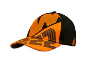 Cappello Ktm bimbo bambino TC222 Tony Cairoli arancione in cotone con visiera