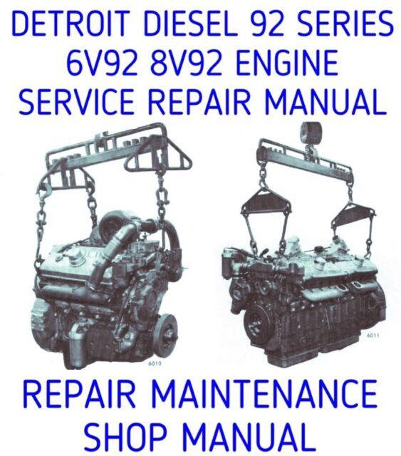 detroit diesel 6v92 repair manual