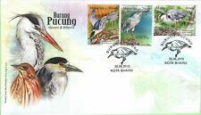 Malaysia 2015 Herons & Bitterns ~ FDC