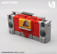 Transformers Blaste MFT MF-49 With Rhinoceros Magnetic Tape Pocket Action Figure