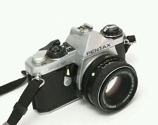 PENTAX ME SUPER 35mm FILM SLR WITH 50mm F/1.4 LENS Albinar F=80-200mm 1:3.9 55mm