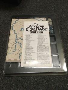 1974 - SPI Simulations Publications Games - The American Civil War 1861-1865