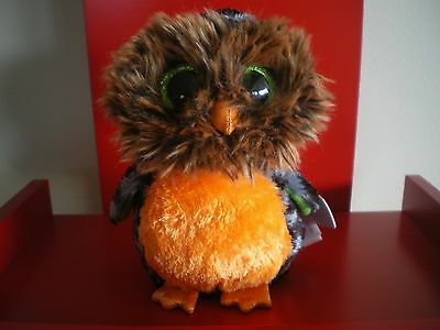 Ty Beanie Boos MIDNIGHT the owl 6 inch NWMT. NEW RELEASE HALLOWEEN BOO.