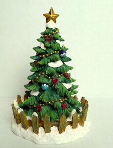 Grandeur-Noel-Victorian-Village-Town-Christmas-Tree-2002-Miniature