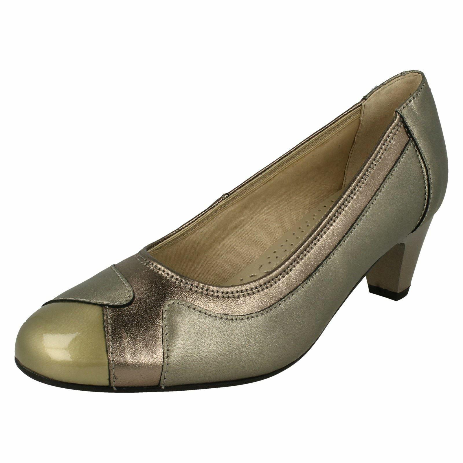 Ladies Padders Elegant Court Shoes Jewel