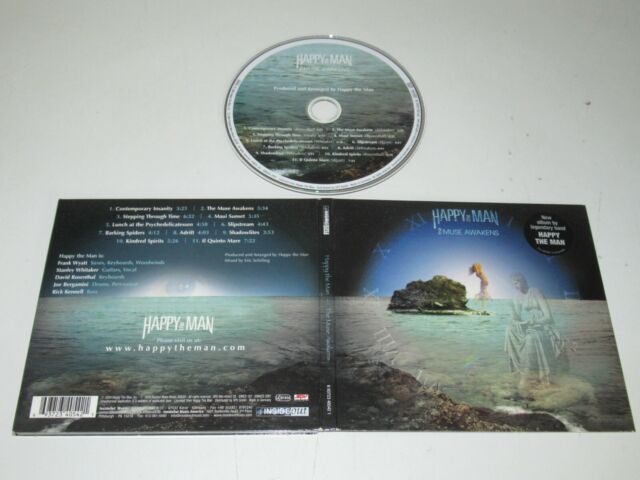 Happy The Man ‎– The Muse Awakens / IOMCD 187 CD ALBUM DIGIPAK