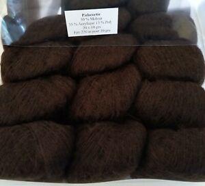 Boite-de-20-Mini-Pelotes-50-Mohair-PICHENETTE-Chocolat