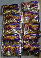 Original Crazy Bones 30 Sealed Packs Gogos Things Lot 120 Figures 1990s