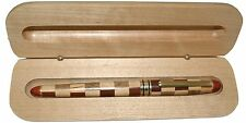 Multi Wood Color Roller Ball Pen in Maple Wood Box