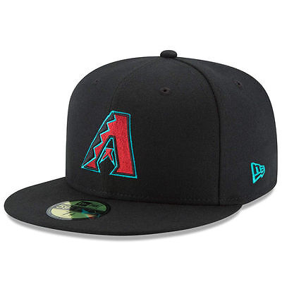 ARIZONA DIAMONDBACKS Alternate 1 New Era 5950 Cap MLB Fitted Baseball Hat ALT1
