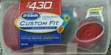 Dr. Scholls Custom Fit Orthotic Inserts CF 430 NEW Insoles ( See description)