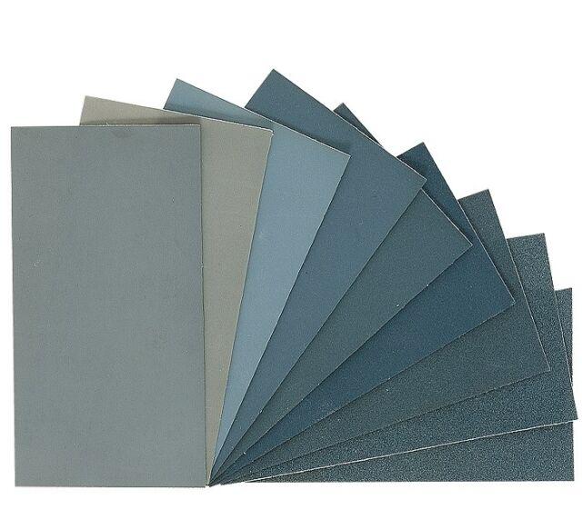 "Micro-Mesh / MicroMesh Cushioned Abrasive Polishing Kit - 9 Sheets of 6""x4"""