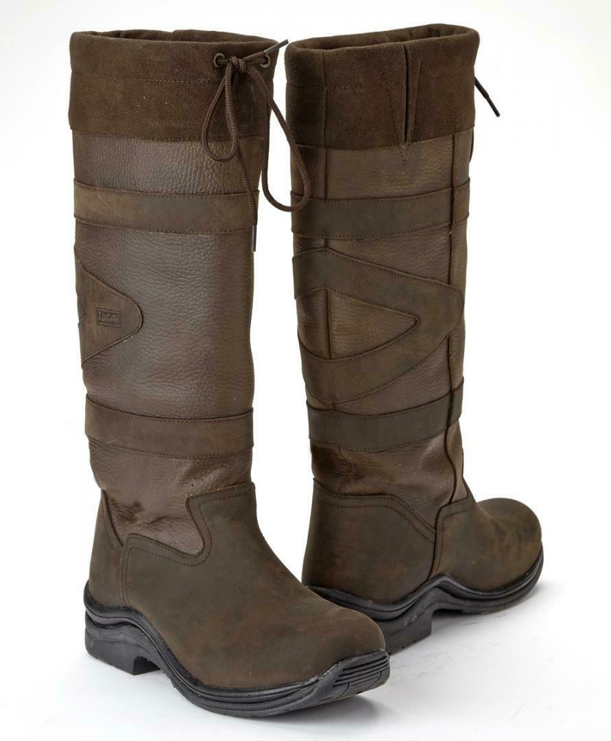 Toggi Canyon Leather Riding Country  Boot  the best selection of