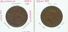 WORLD COINS AUSTRALIA 1943 I(b) LARGE PENNY (G468)AU