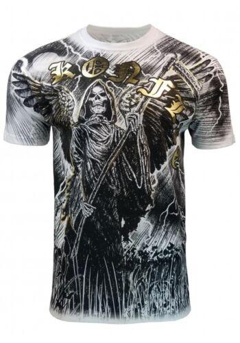 Konflic Gream Reaper Lightning Moon MMA T Shirt