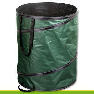 160-l-Gartentasche-Pop-up-Laubsack-Blaetter-Kompost-Bioabfall-Maehgut