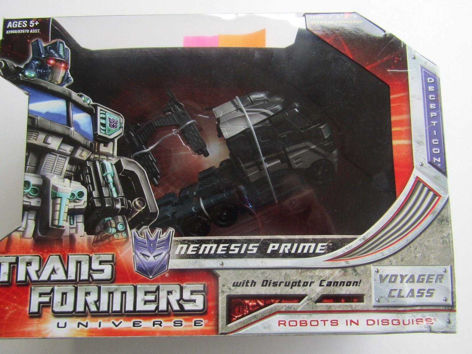 Hasbro transformadores universo SDCC Nemesis Prime Voyager