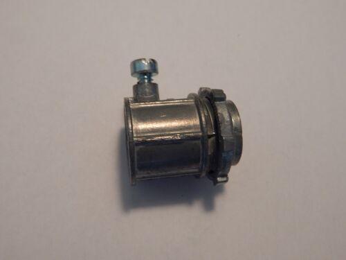 1//2 inch EMT Conduit Connector Set Screw 10 Each