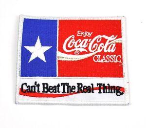 Coca-Cola-Coke-USA-Buegelflicken-Aufnaeher-Emblem-Uniform-Patch-Stern-Real-Thing