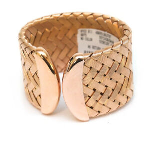Image Is Loading Nwt Roberto Coin The Fifth Season Rose Gold