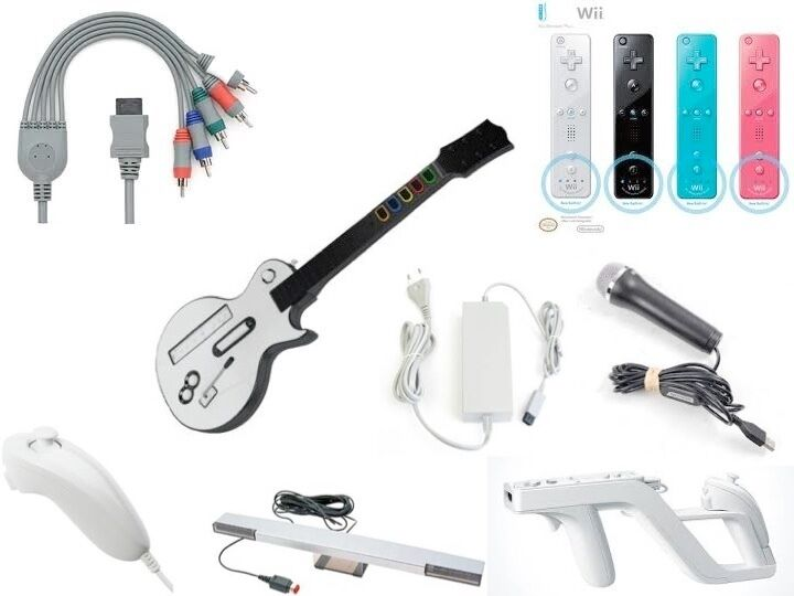 Accessories for the Nintendo Wii and Wii U