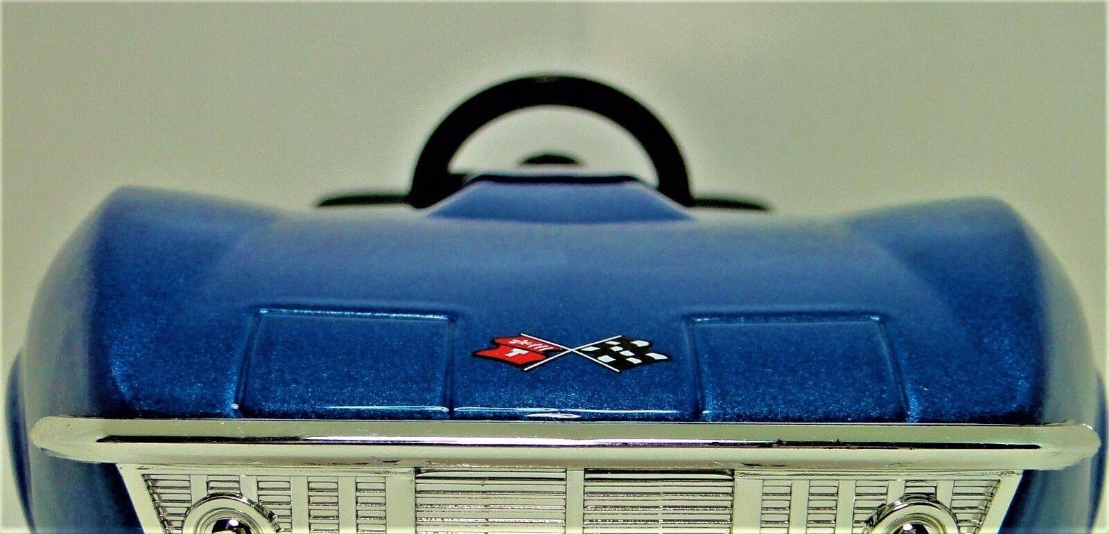 Auto A Pedal 1969 Corvette Corvette Chevy Vintage Deporte Metal     leer la descripción completa