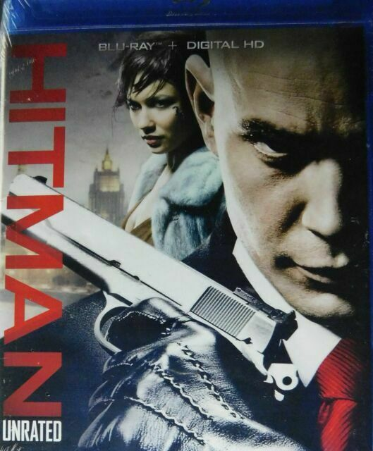 Hitman Blu Ray Disc Movie Timothy Olyphant Olga Kurylenko Hit Man