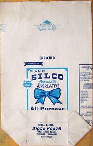 Details about MEMPHIS FLOUR SACK: SILCO brand (10-pound, paper) Dixie  Portland Flour Mills Inc
