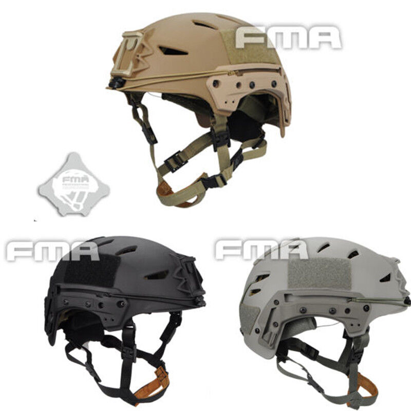 FMA TB1044 MIC FTP Bump Helmet EX  Airsoft Elmetto Softair Cosplay BK DE FG New  waiting for you